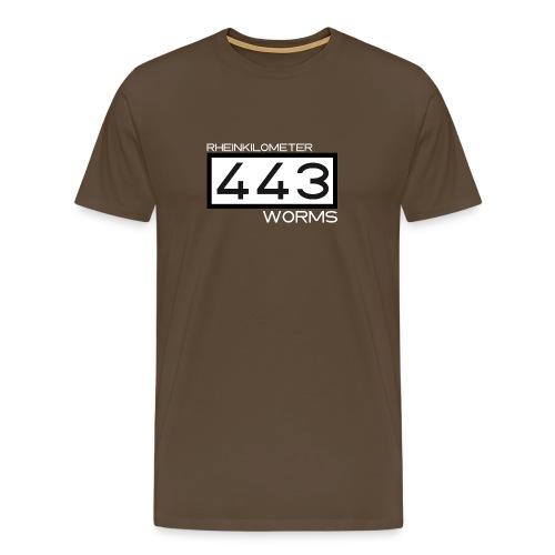 RK-443-Worms-weiss - Männer Premium T-Shirt