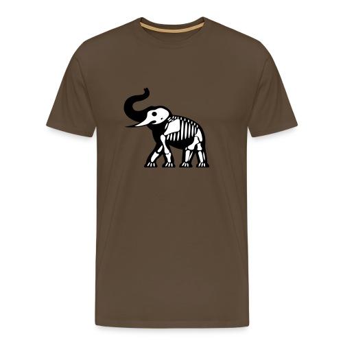 ElephantSquelette - T-shirt Premium Homme