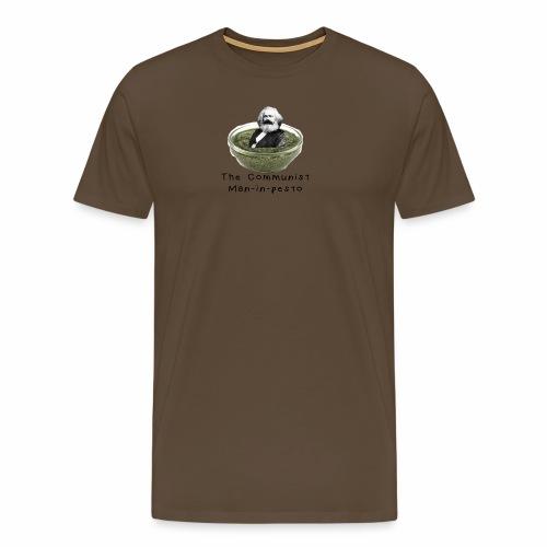 Man-in-pesto - Men's Premium T-Shirt