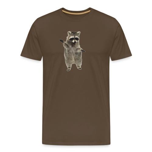 raccoon - Männer Premium T-Shirt