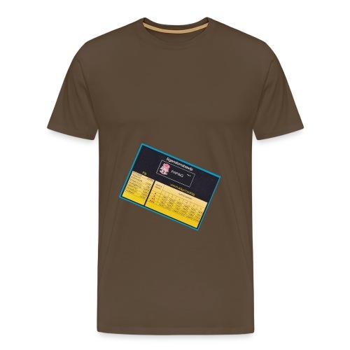 Spel Hotel - Mannen Premium T-shirt