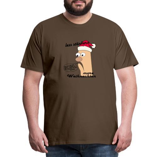 more Weihnachten - Männer Premium T-Shirt