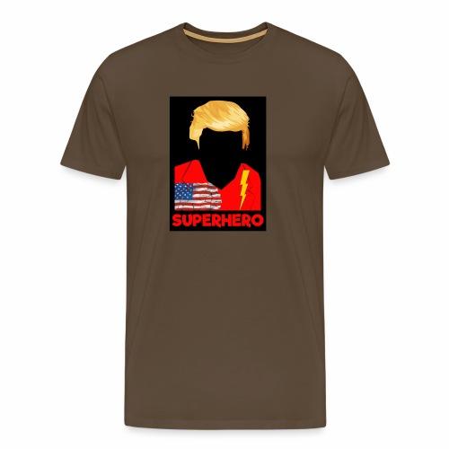 Super Donald / Orange Trump - Maglietta Premium da uomo