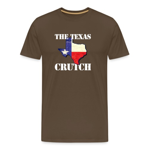 The Texas Crutch - Men's Premium T-Shirt