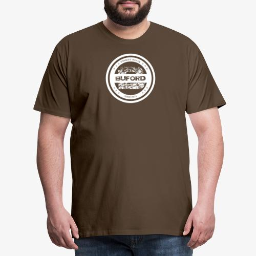 Buford Circle weiß - Männer Premium T-Shirt