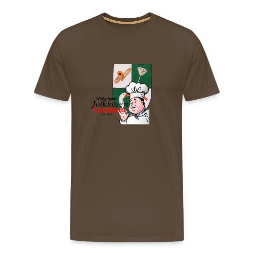 Leipomo - Miesten premium t-paita
