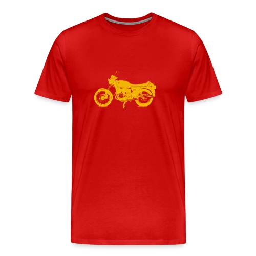 yellow r 100 - Men's Premium T-Shirt