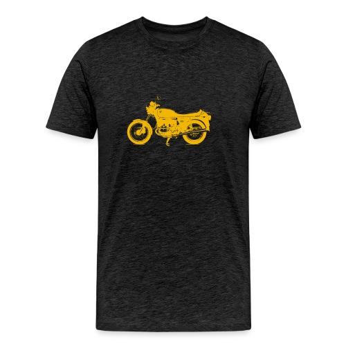 yellow r 100 - Men's Premium T-Shirt