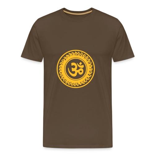 Ohm Mandala - Camiseta premium hombre