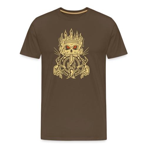 MCExtraprall_Skull - Männer Premium T-Shirt