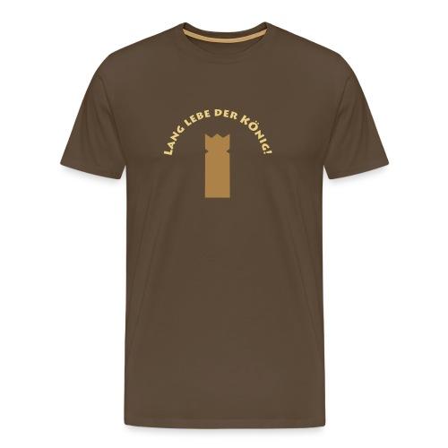 Lang lebe der König_by Lola - Männer Premium T-Shirt