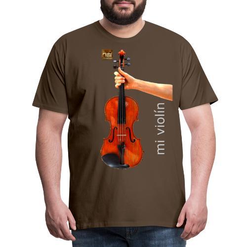 MI violín - Camiseta premium hombre