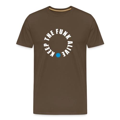 Keep the Funk Alive - Shirt - Männer Premium T-Shirt