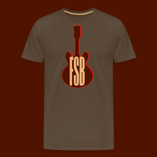 FSB Guitar Logo - Men's Premium T-Shirt