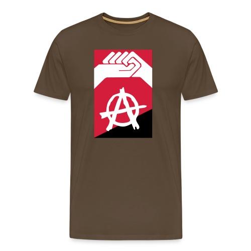 anarquía vectorial - Camiseta premium hombre
