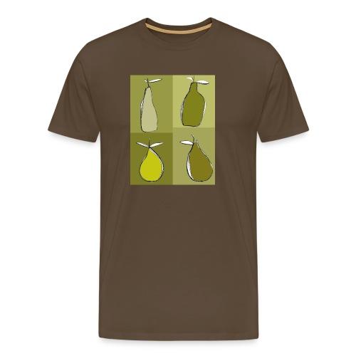 green pears - T-shirt Premium Homme