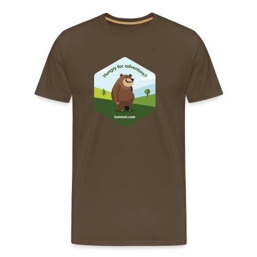 Hungry for Adventure? - Männer Premium T-Shirt