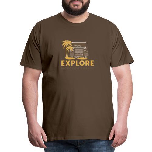 Explore Morocco Travel - Männer Premium T-Shirt
