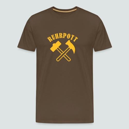 Der Hammer hängt im Ruhrpott - Männer Premium T-Shirt