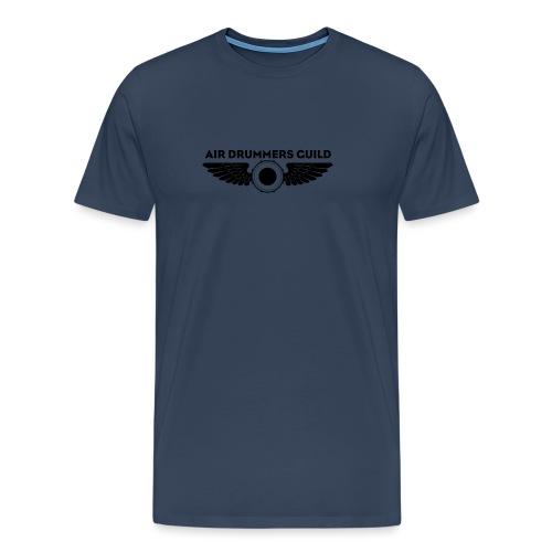 ADG Drum'n'Wings Emblem - Men's Premium T-Shirt