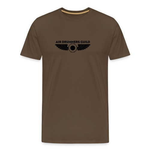 ADG Drum'n'Wings Emblem - Men's Premium T-Shirt