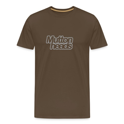 mths logo nb - Men's Premium T-Shirt