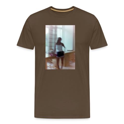Mädchen in Shorts - blurred vintage photography - Männer Premium T-Shirt