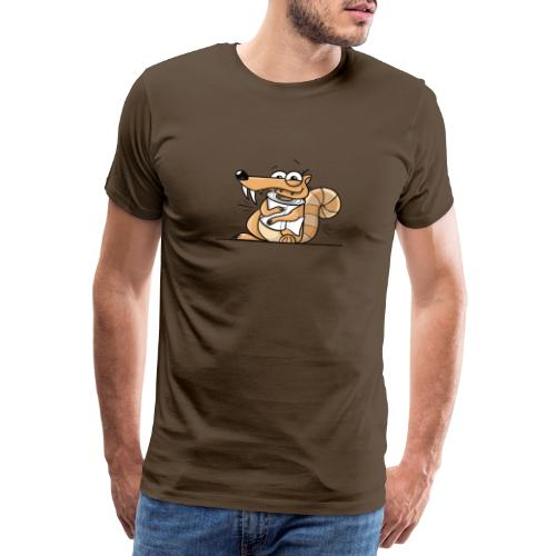 Scrat Toiletpaper Ice Age Corona Age Corona Virus - Männer Premium T-Shirt