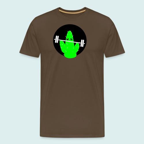 lifting cactus - Mannen Premium T-shirt