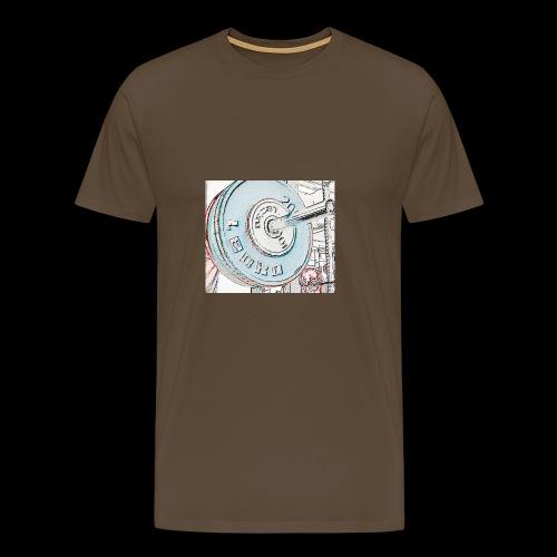 Iron - Miesten premium t-paita