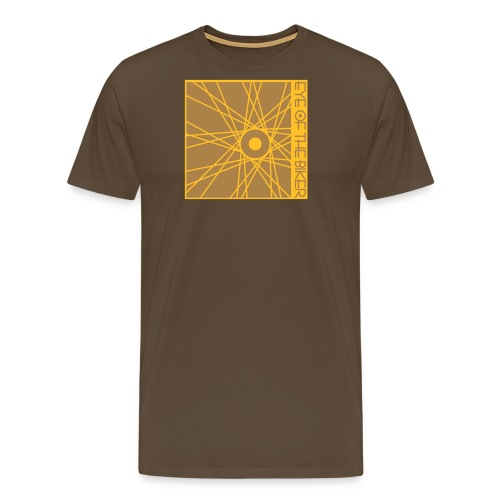 Eye Of The Biker - Wheel - bicolor - Männer Premium T-Shirt
