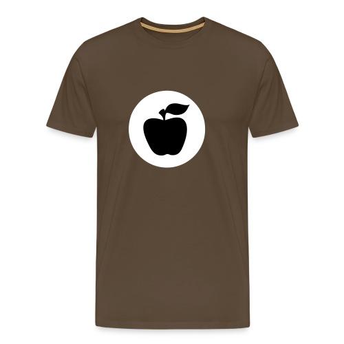 apfelfrontapfel - Männer Premium T-Shirt
