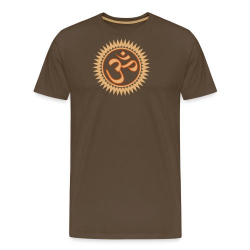 Om - AUM - Männer Premium T-Shirt