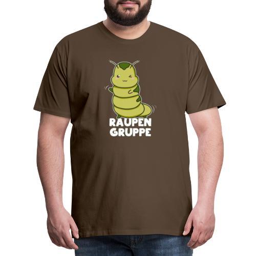 Raupen Gruppe Kindergarten - Männer Premium T-Shirt