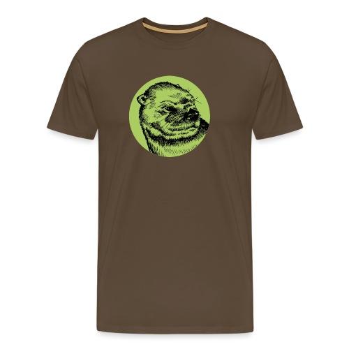Une Loutre Verte - T-shirt Premium Homme