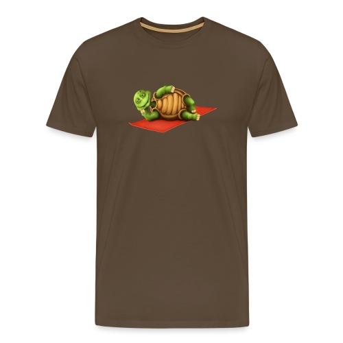 Yoga Vishnu Turtle - Männer Premium T-Shirt