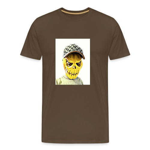 Gelber PMKM - Männer Premium T-Shirt