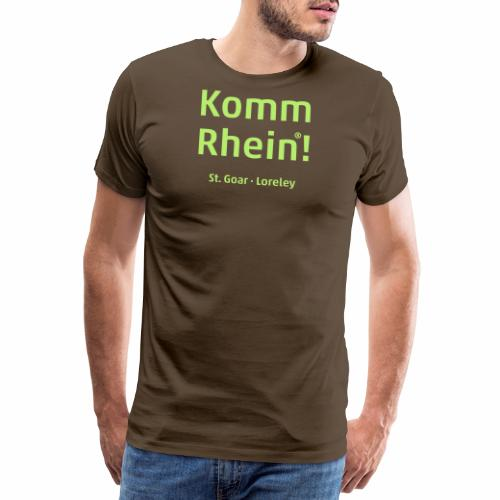 Komm Rhein! St. Goar · Loreley - Männer Premium T-Shirt