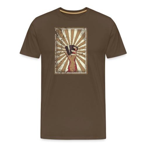 Coffee revolution! - Mannen Premium T-shirt