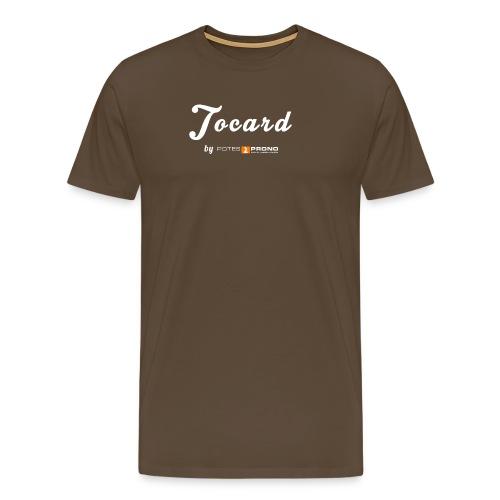 TshirtTocard02 png - T-shirt Premium Homme