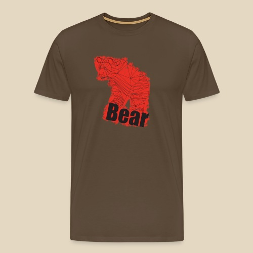 Red Bear - T-shirt Premium Homme