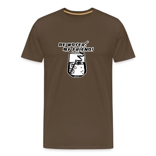 be_water - Männer Premium T-Shirt