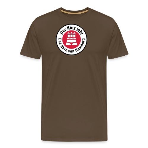 Der Kiez lebt - Männer Premium T-Shirt
