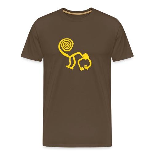 Nazca Affe - Männer Premium T-Shirt