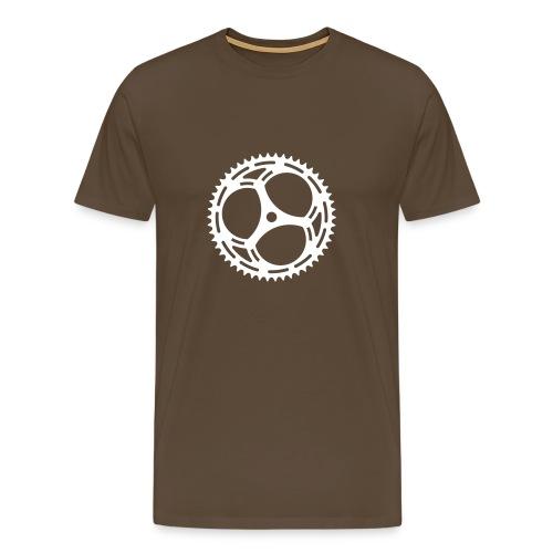 Bicycle Sprocket - Men's Premium T-Shirt