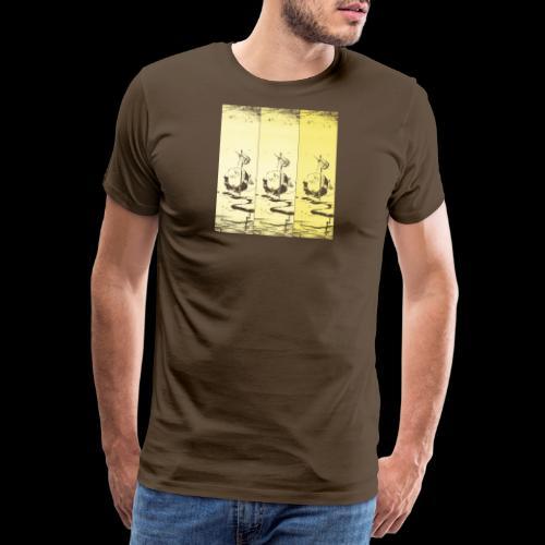 hotei - utagawa kuniyoshi - Männer Premium T-Shirt