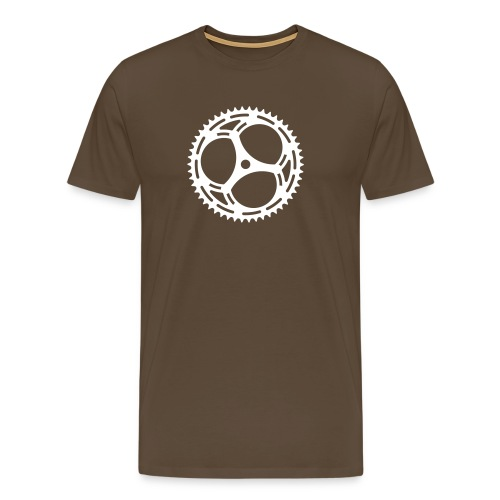 Bicycle Sprocket - Men's Premium T-Shirt