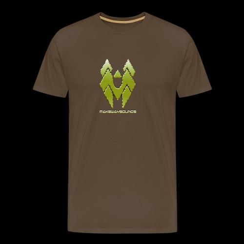 kylttilogo6 - Miesten premium t-paita