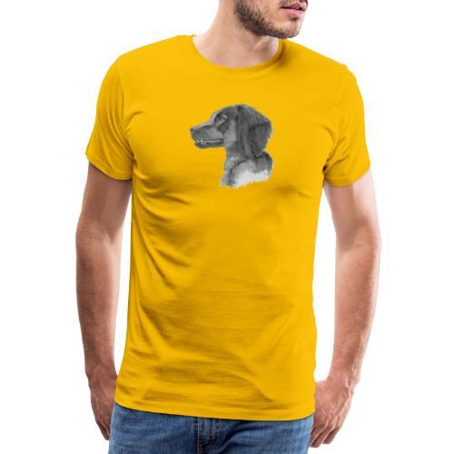 fieldTrialSpaniel - Herre premium T-shirt