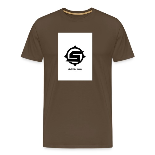 Syntex Clan - Premium-T-shirt herr